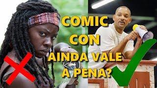 COMIC CON AINDA VALE A PENA? WILL SMITH MITOU, DANAI GURIRA DECEPCIONOU