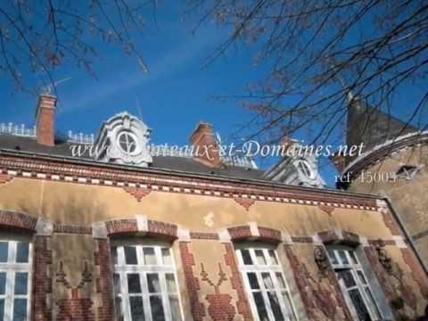45003 Gâtinais Haussmannien Château property for sale, Isolated/Turnkey, 125km Paris