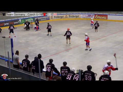 Lax in the Box 2017 Team Germany vs. Czech U-19