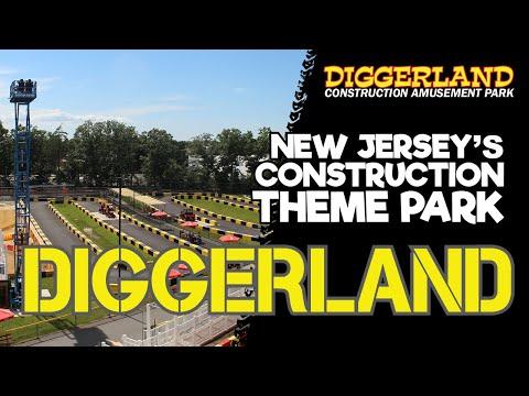 Diggerland USA - A Construction Theme Park In NJ