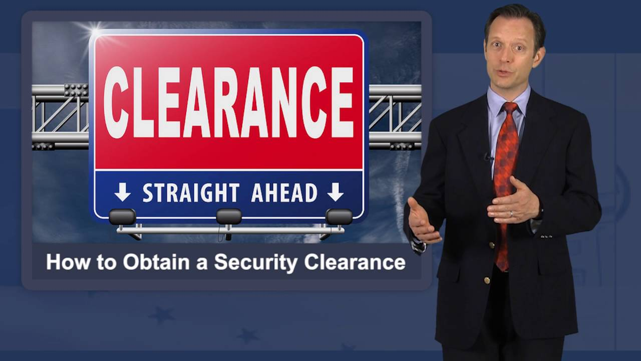 How to Obtain Security Clearance - YouTube