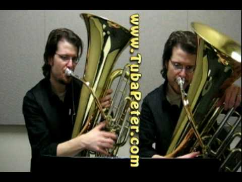 Baby Elephant Walk Tuba Duet + sheet music
