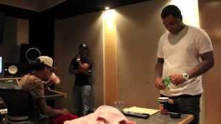Kevin Gates x Yung Mazi In-Studio with KE On The Track