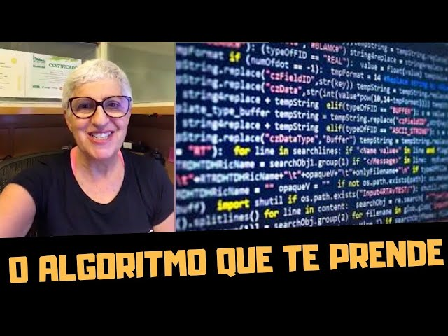 OS ALGORITMOS ESTÃO TE DOMINANDO! feat ROSANA HERMANN