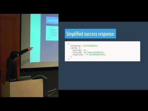 Scott Luptowski from Handy on HTML5 Geolocation API