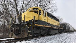 Railfanning Binghamton, NY 3/11/17