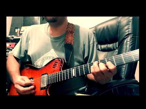 O mere dil ke chain | Pancham tribute | Guitar instrumental Cover |