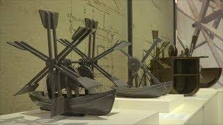 100 машин да Винчи представили на выставке в Бельгии (новости)