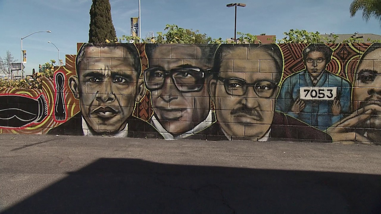 One Wall At A Time Art Murals Transform San Diego Lincoln Park