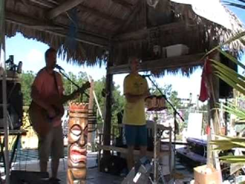 Buffett Tickets Song at Pitstop Party in Key Largo