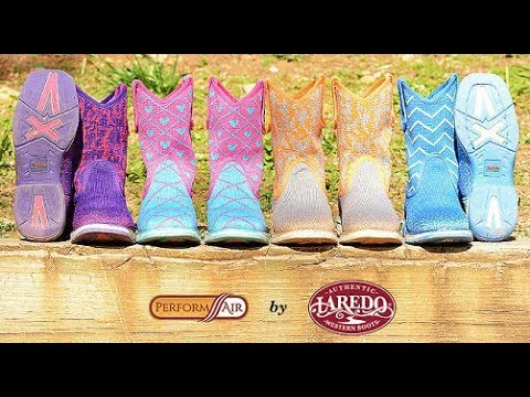 Machine Washable Boots: Wear, Wash, Repeat in these Performair by Laredo Boots