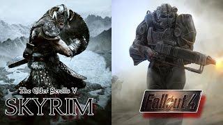 Skyrim vs Fallout 4: ¡EL MEJOR SANDBOX! - LUDOBOT | (Colaboración)