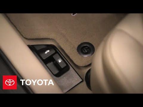 2014.5 Toyota Camry How-To: Fuel Door, Hood, Trunk Releases | Toyota