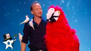 King Of Birds Had Judges In Stitches With His Crazy Magic on BGT 2020 | Magician's Got Talent