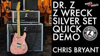 Matt's Music Center - Dr. Z Z Wreck Silver Set Quick Demo - Chris Bryant