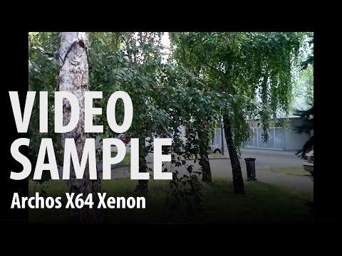 Archos 64 Xenon : video sample