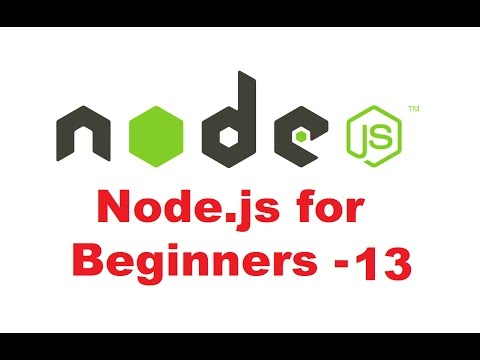 Node.js Tutorial for Beginners 13 - pipes - YouTube