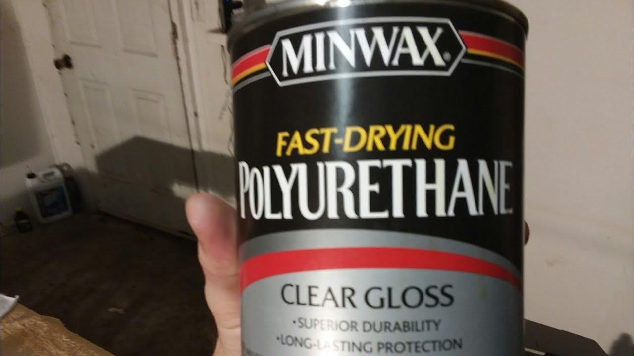 Minwax Fast Drying Polyurethane Clear