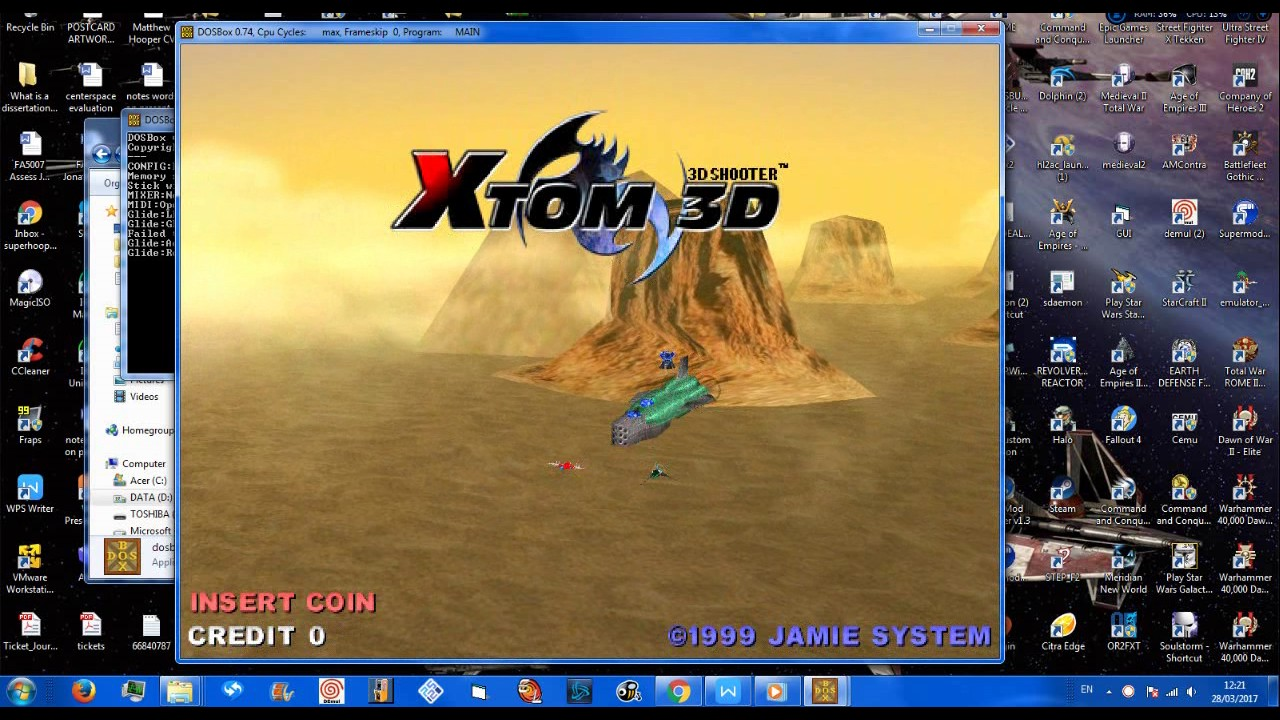 XTOM 3D - new arcade dump - DOS - old game but looks good! 1999-2017