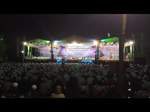 PG Krebet Baru Bersholawat bersama Majlis Maulid Wat Ta'lim Riyadlul Jannah