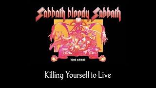 Black Sabbath - Killing Yourself to Live (lyrics)