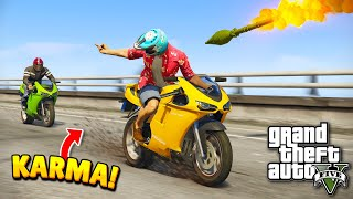 TOP 100 INSTANT KARMA MOMENTS IN GTA 5