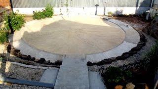 Каркасный бассейн Intex 457х122. Фундамент своими руками.The Foundation itself.(Чтобы бассейн долго служил, мы забетонировали площадку специально для него. Еще видео на тему: