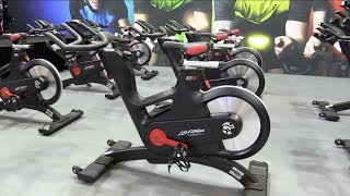 Life Fitness - ICG IC7 indoor cycling bike demo and interview