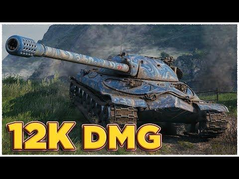 IS-7 • 12K DAMAGE • WoT Gameplay