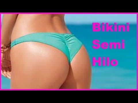 Como hacer un bikini semi hilo para traje de ba o con for Como disenar un bano