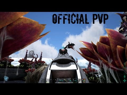 QUETZAL GUNNER Base Defense - Official PVP (E42) - ARK Survival