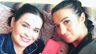 VLOG: Дочке уже 7 месяцев! Ее первый сотовый телефон. Готовлю вкусный ужин! NEWCHIC