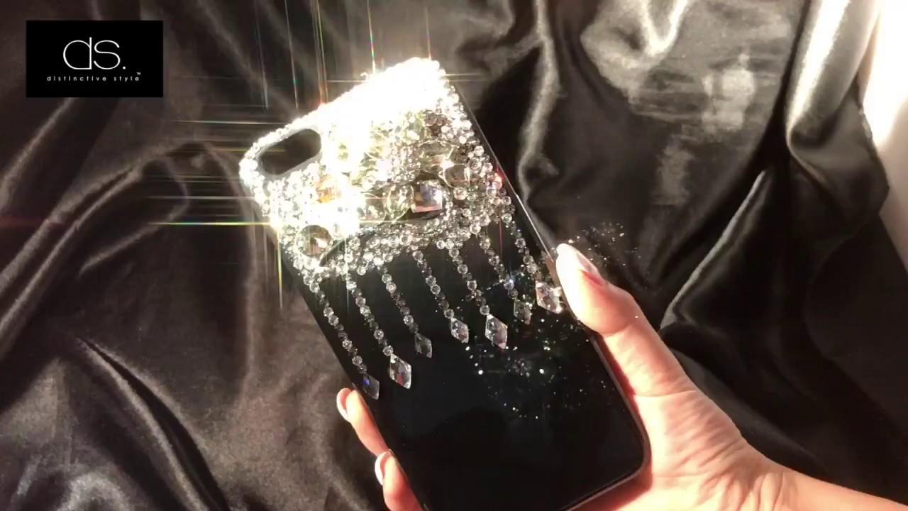 new style c7fc5 f51d6 Drops Diamond Swarovski Crystal iPhone 7S Plus Case