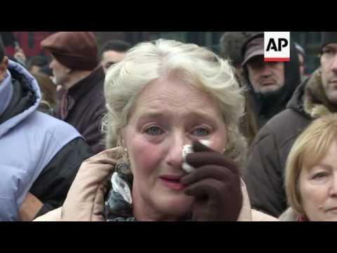 Thousands in Sarajevo protest Syria violence
