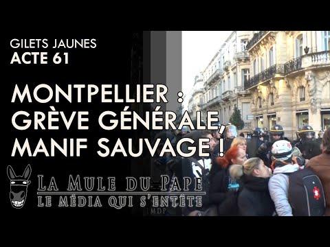 Gilets Jaunes Acte 61 - Grève générale, manif' sauvage!