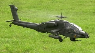 Repeat youtube video Scale Hughes and Apache Helicopter