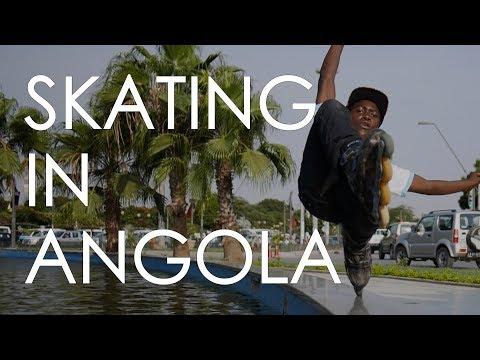 AGGRESSIVE AND URBAN INLINE SKATNG IN ANGOLA // VLOG 114
