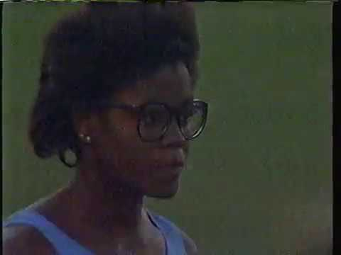 Carol Lewis Women's Long Jump - 1984 USA Olympic Trials Track & Field