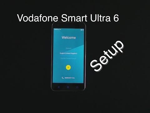 Vodafone Smart Ultra 6 Setup