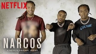 Narcos: Mexico | Migos Ad-libs: Riding Dirtbikes | Netflix