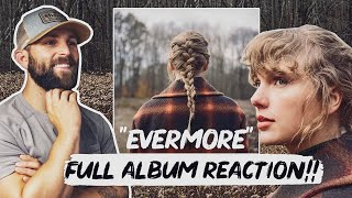 Listening to Taylor Swift - Evermore (Full Album Reaction)