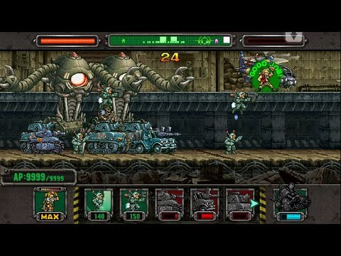[HD]Metal slug Defense. WIFI!  FUTURE MORDEN  Deck!!! (1.46.0 ver)