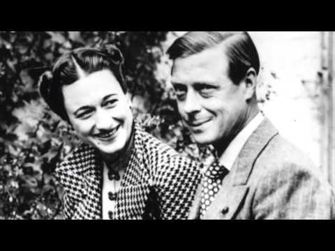 Prince Edward and Wallis Simpson kissing compilation