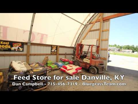 Cash Flow Feed Business for sale Danville, KY Drive Thru Retail Pet Feed Store
