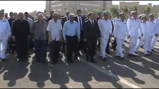 بالفيديو| وزير الداخلية يتقدم الجنازة العسكرية لشهيد