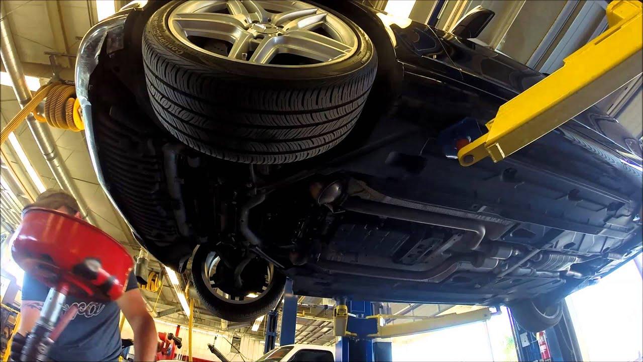 Mercedes C350 Oil Change