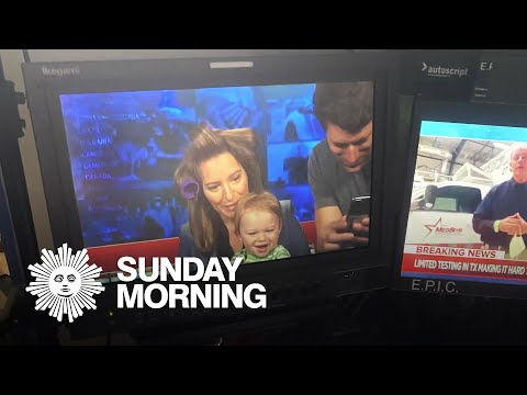 Working From Home: Tony Dokoupil And Katy Tur