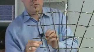 Fr Presents: How To Make A Trellis For A Gardeny Floral Arrangement