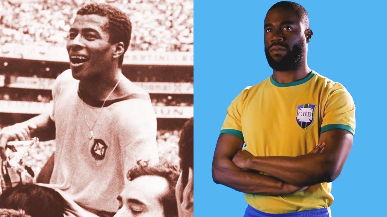 138a3ceeb2e Brazil World Cup Jerseys Throughout History - YouTube