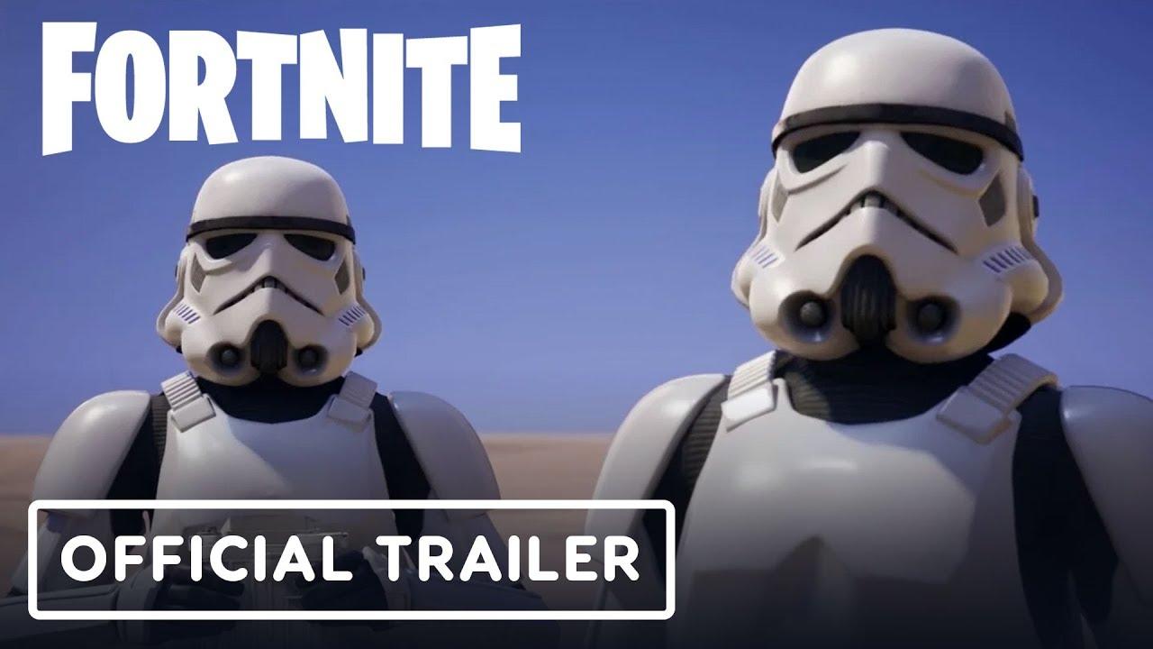 Fortnite X Star Wars Imperial Stormtrooper Official Trailer